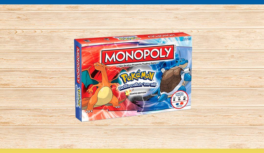 Consigue gratis el juego del Monopoly Pokémon