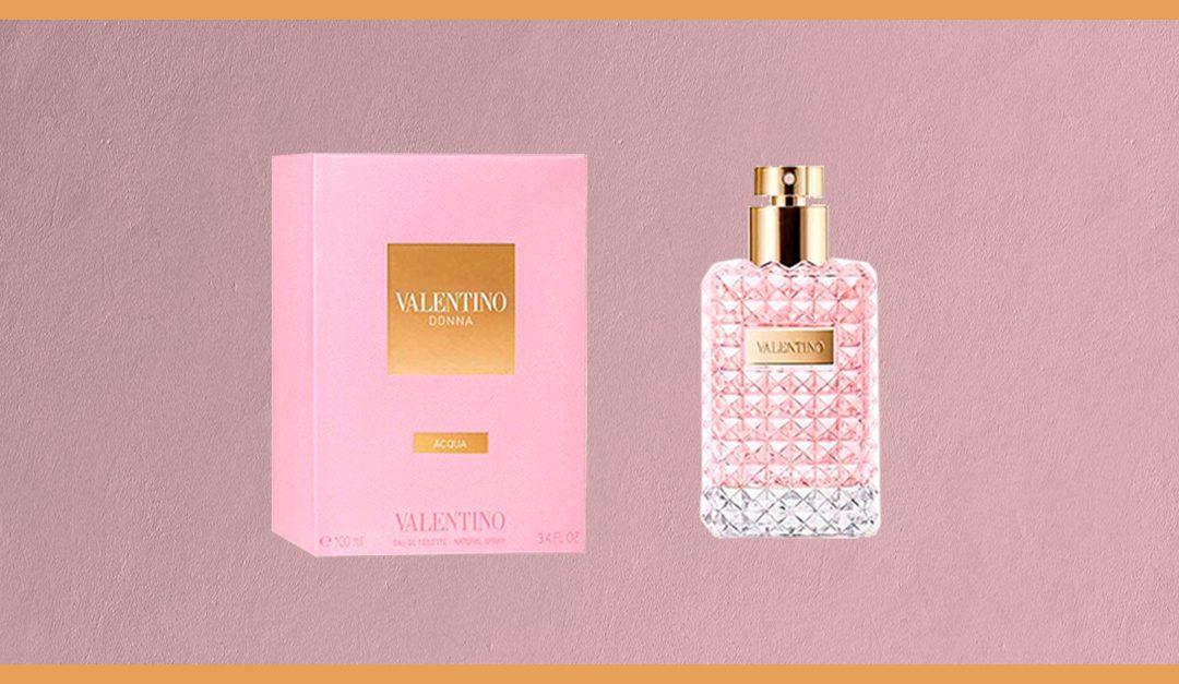 Consigue gratis una muestra del perfume Donna Acqua de Valentino