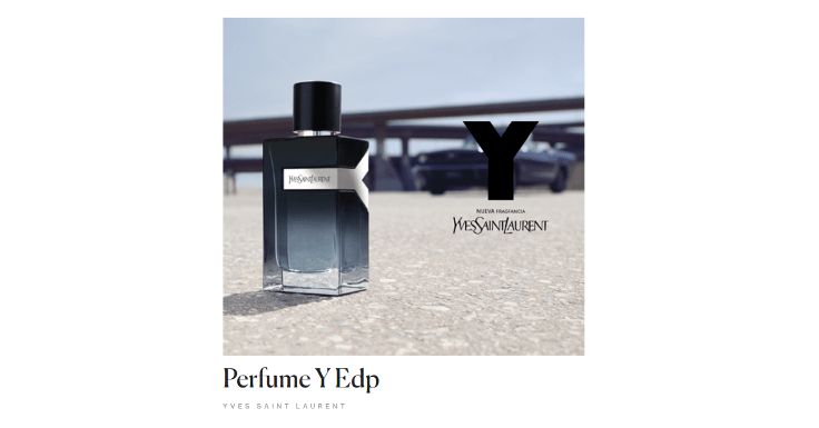 Recibe gratis el Perfume Y de Yves Saint Laurent