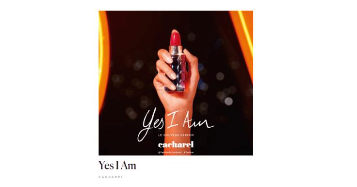 Prueba gratis una muestra del perfume Yes I Am de Cacharel