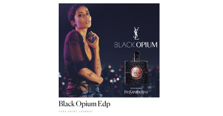 Recibe una Muestra del perfume Black Opium de Yves Saint Laurent