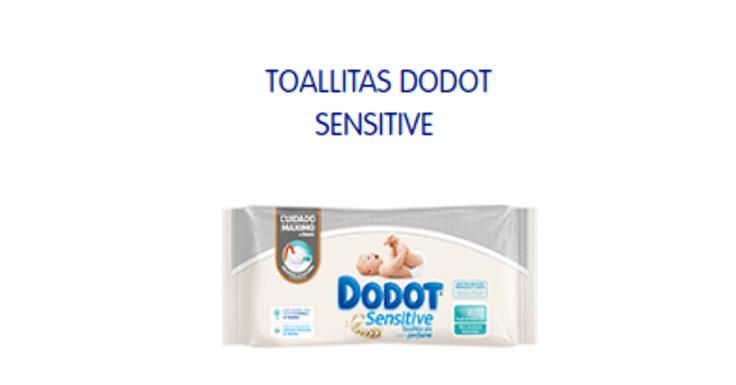Pide gratis tus toallitas Dodot Sensitive