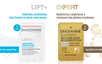 muestra gratis de Diadermine