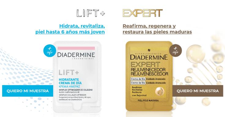 Elige tu muestra gratis de Diadermine