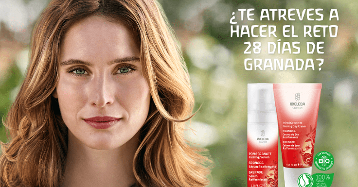 Consigue gratis un pack facial de Weleda