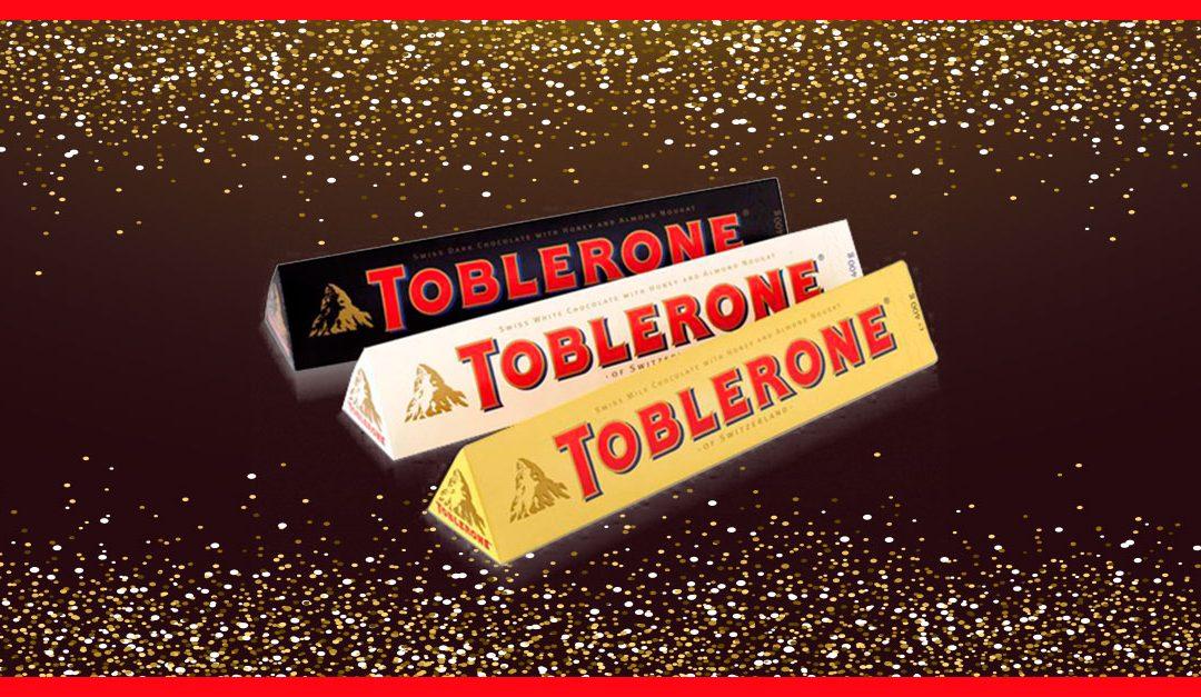 Consigue gratis una muestra de Toblerone