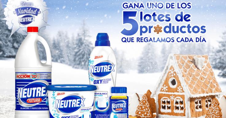 ¡Gana gratis un lote de productos Neutrex!