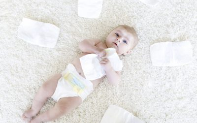 Qué talla de pañales necesita un recién nacido