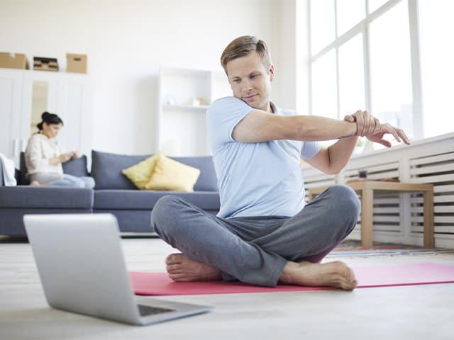 Webs para practicar yoga