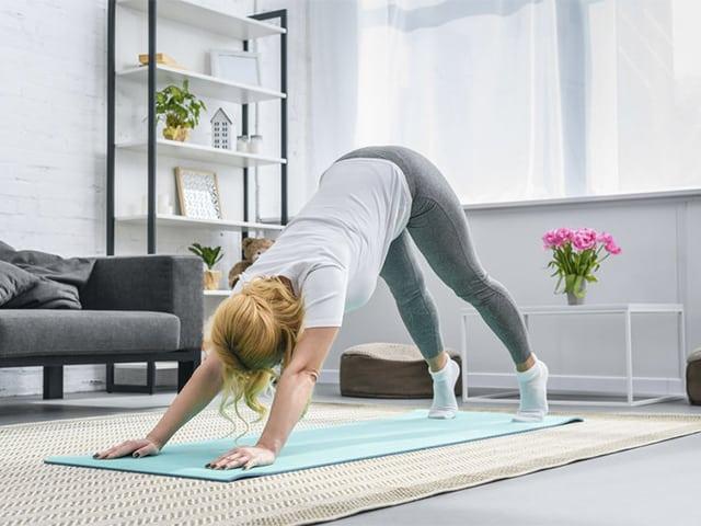Accesorios para la práctica de yoga en casa