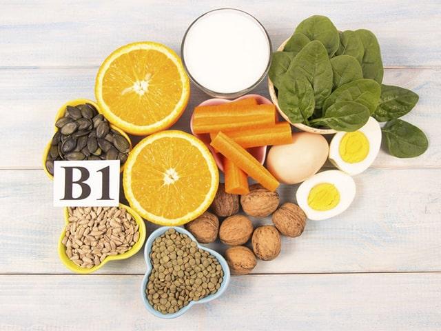 Alimentos con vitaminas y minerales