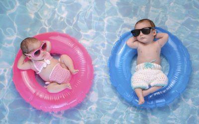 Tipos de flotador para bebé